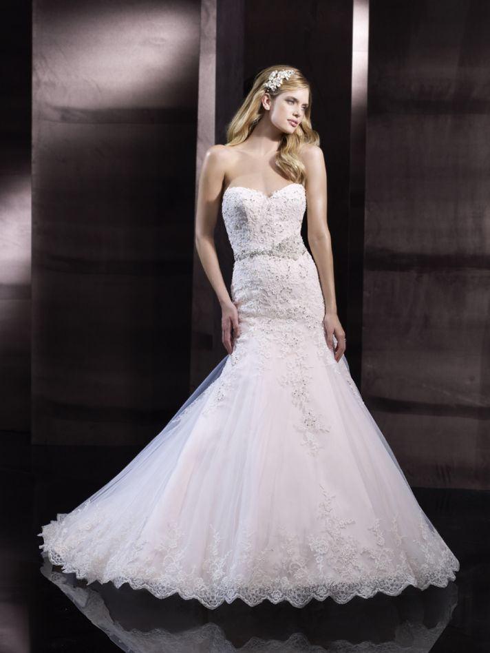 Mermaid wedding gown from Moonlight Couture