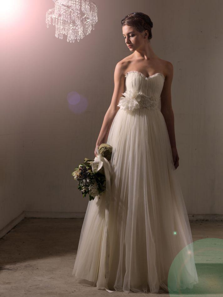 Davinia dress by Sarah Janks Fall 2014 Collection