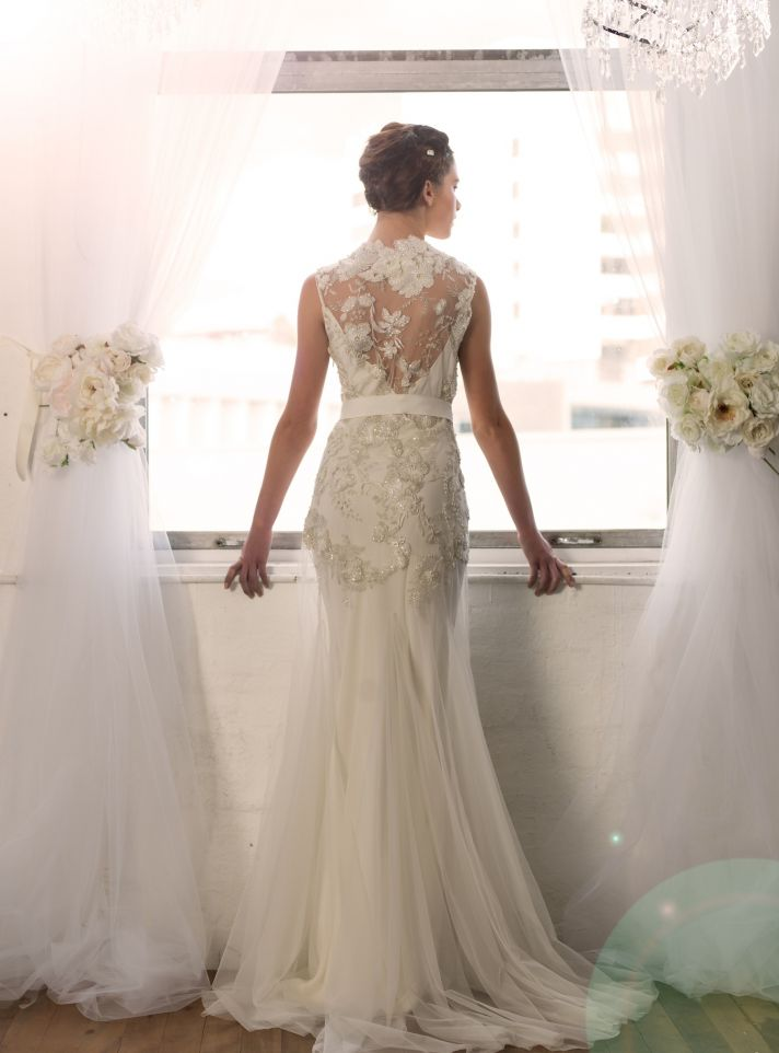 Delilah full length front by Sarah Janks Fall 2014 Collection