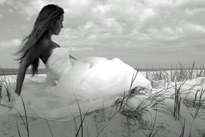 Black and white gown picture from Made with Love
