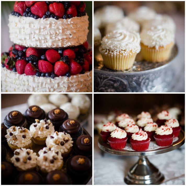 Yummy wedding desserts