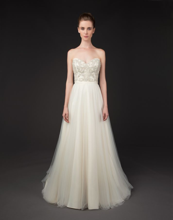 Sydelle gown by Winnie Couture Blush Label 2014