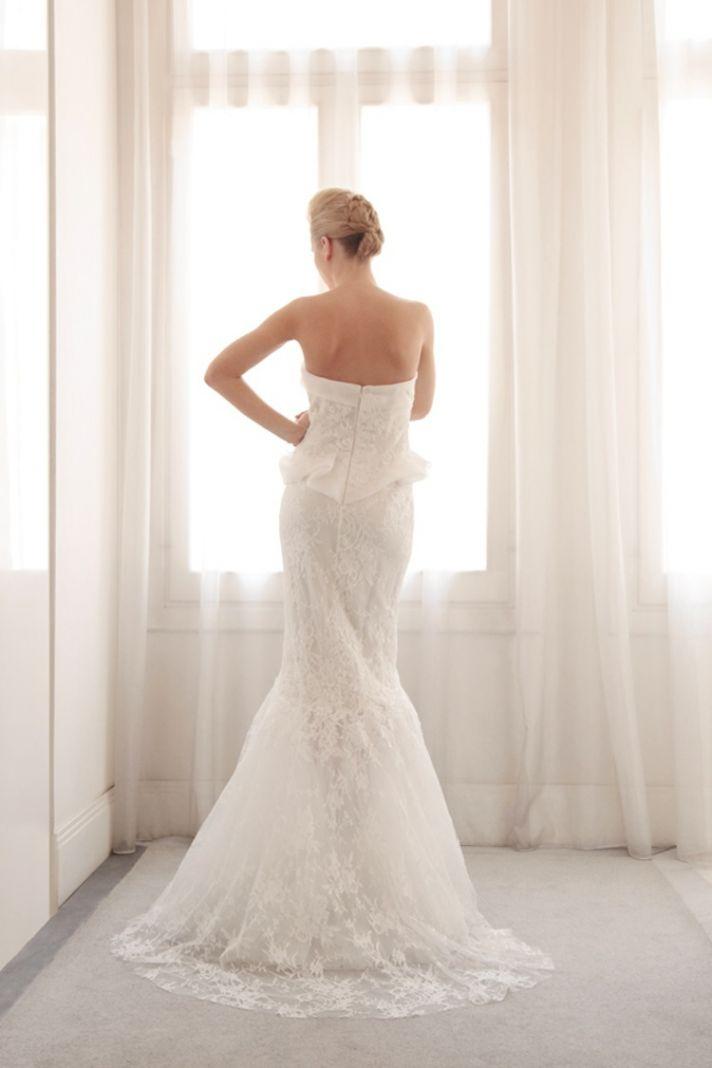 Glamorous mermaid wedding gown by Gemy Bridal