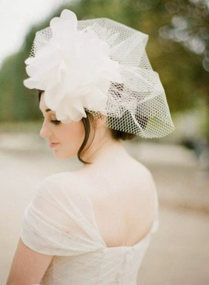 Veil Via Style Me Pretty