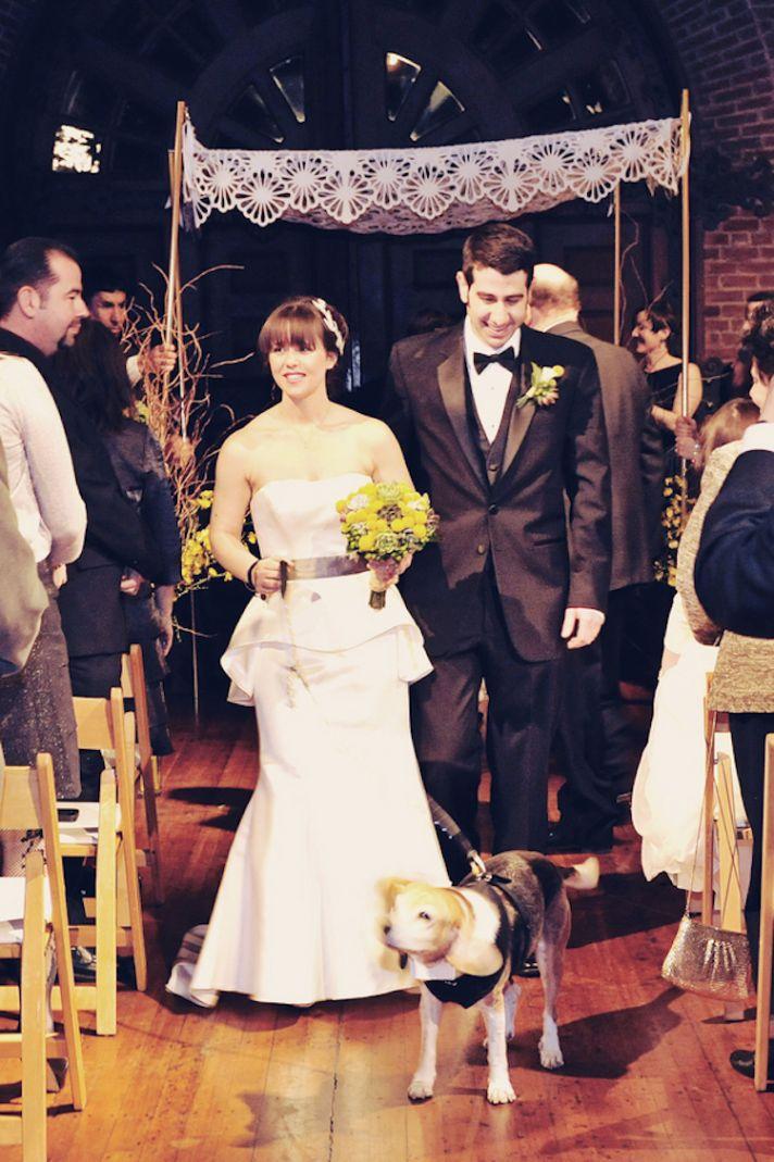 Auto museum wedding ceremony