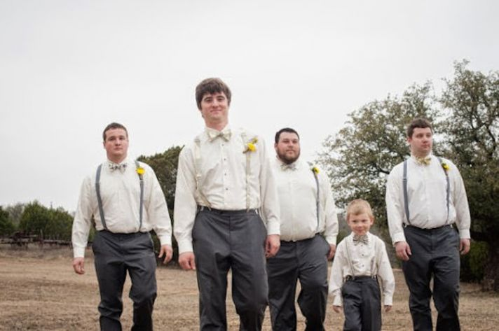 Suspenders groom s wear from Two L Creations