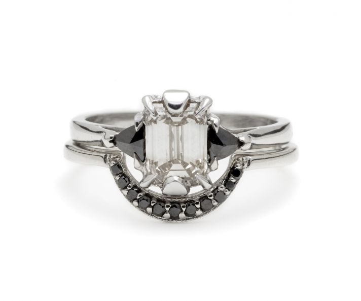 Skull Wedding Rings 70 Great Unique engagement ring with