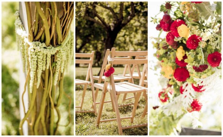 Ceremony flower inspiration