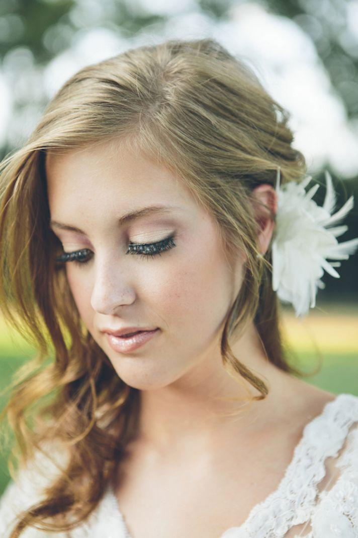 Vintage bride makeup inspiration