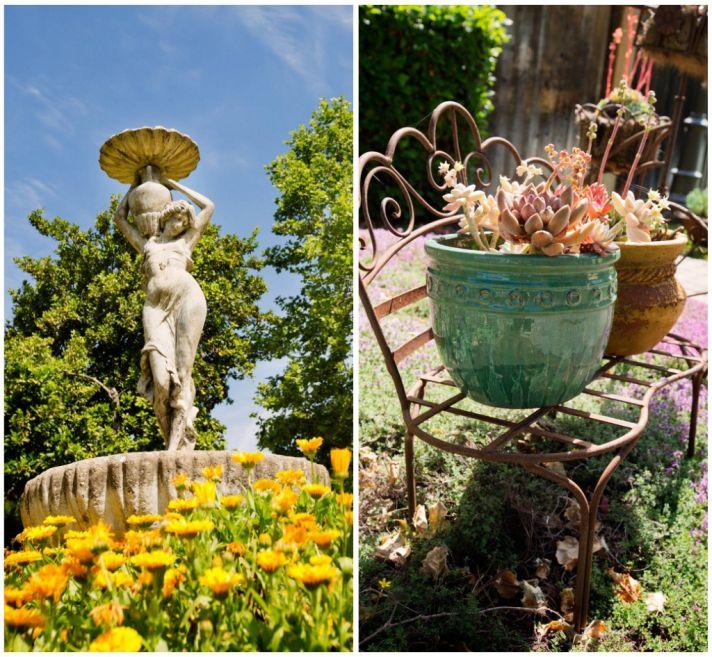 Garden design at the Madrona Manor Inn