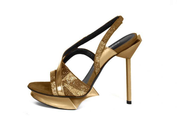 Les Christelles in Gold by Maison des Talons