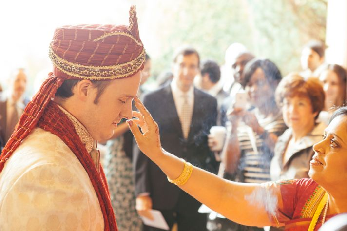 Groom in South Asian Ceremony