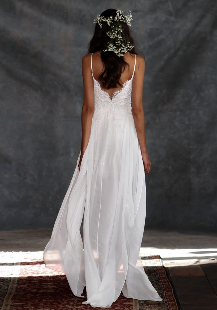 Casablanca Wedding Dress Back from Claire Pettibone s Romantique Collection