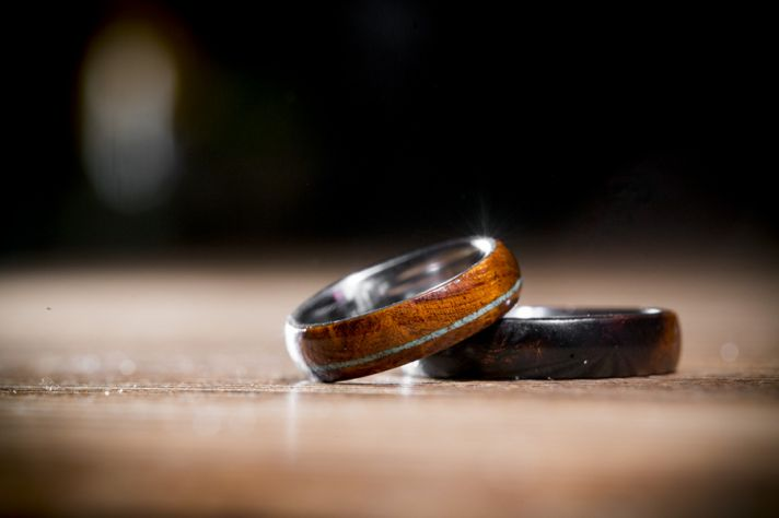 Iron Wood Rings