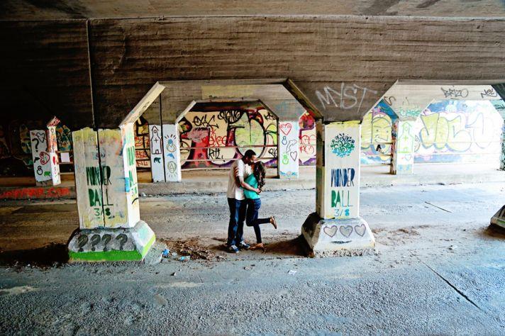 Graffiti and Kisses