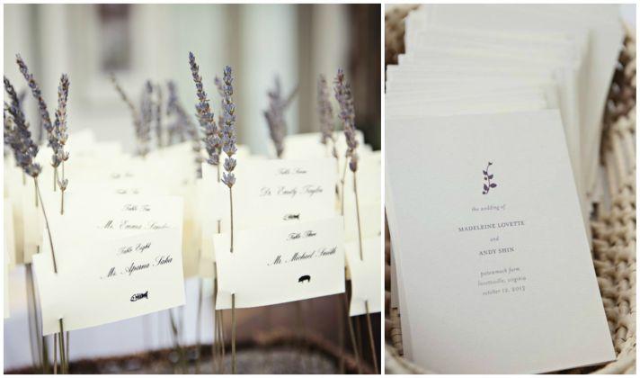 Lavender Inspired Stationery
