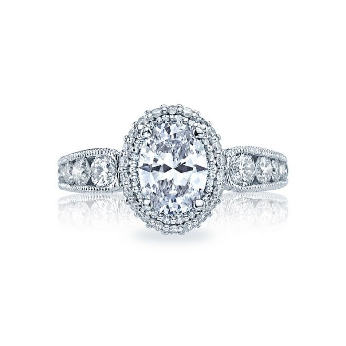 Heirloom Inspired Oval Shaped Engagement Ring