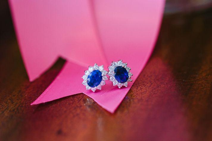 Ritani Endless Love Wedding Band 46 Awesome Sapphire and Diamond Earrings