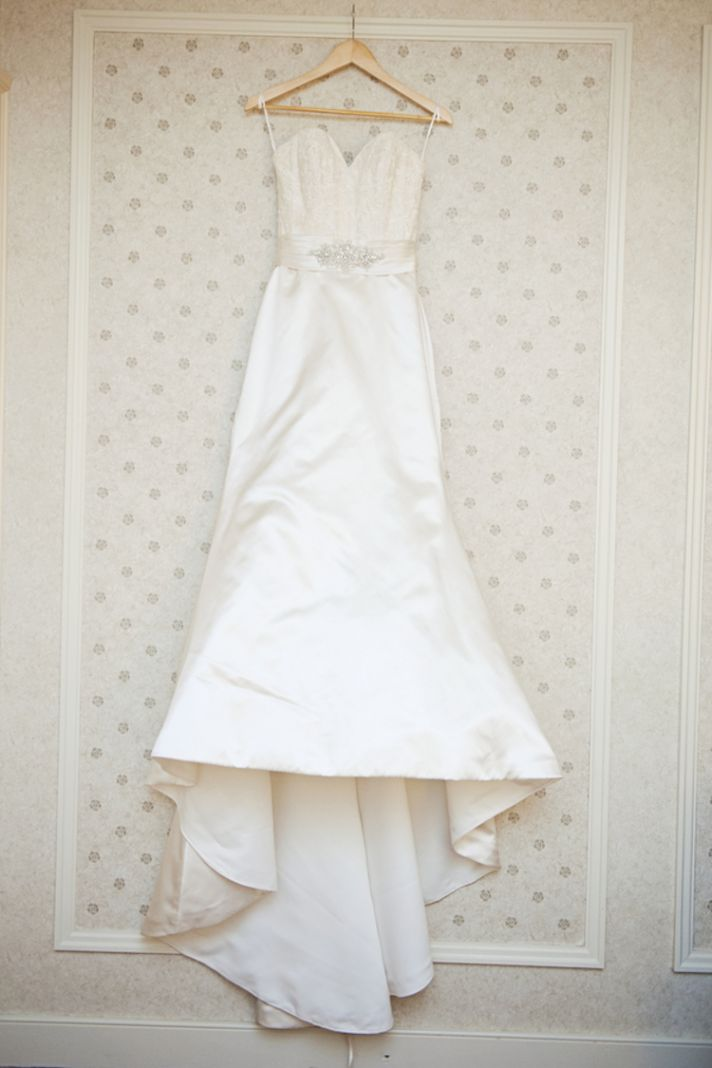 Classic White Bridal Gown