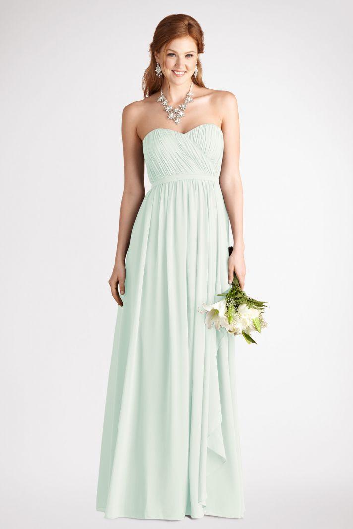 Sweetheart Strapless Dress in Mint