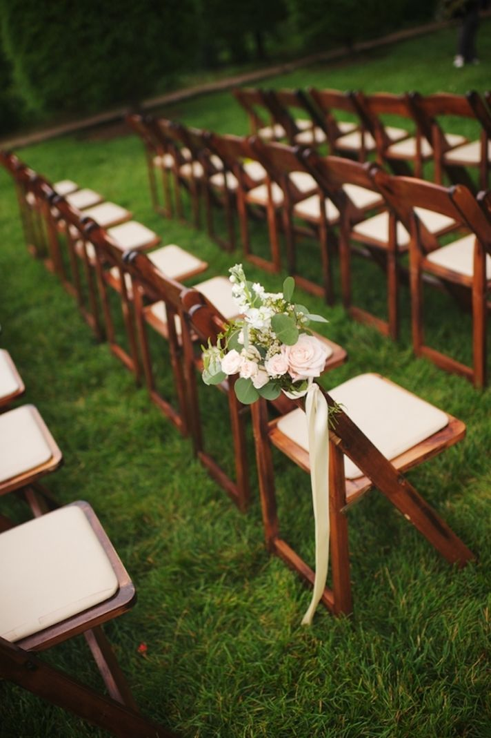 Classic Wedding Aisle Chairs