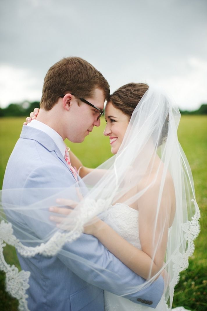 Beautiful Real Bride and Groom