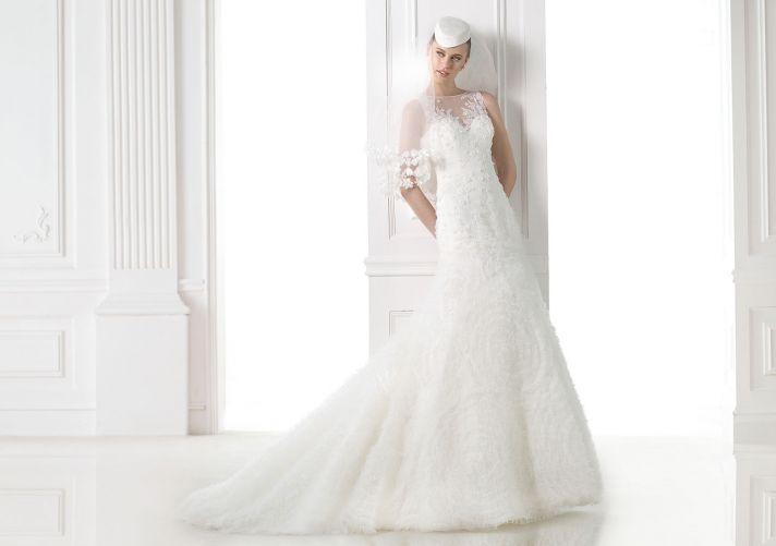 Pronovias 2015 Dream Collection Malina Gown