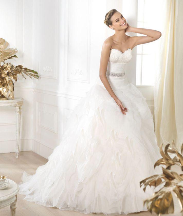 Pronovias 2015 Dream Collection Leina Gown
