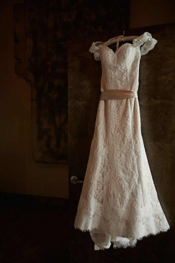 Wedding Dress With Turquoise Sash 29 New Lace Gown with a