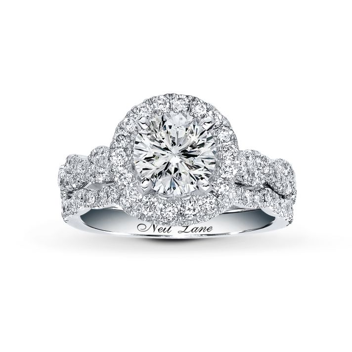 super beautiful halo diamond engagement ring with jared - Wedding Rings Jared