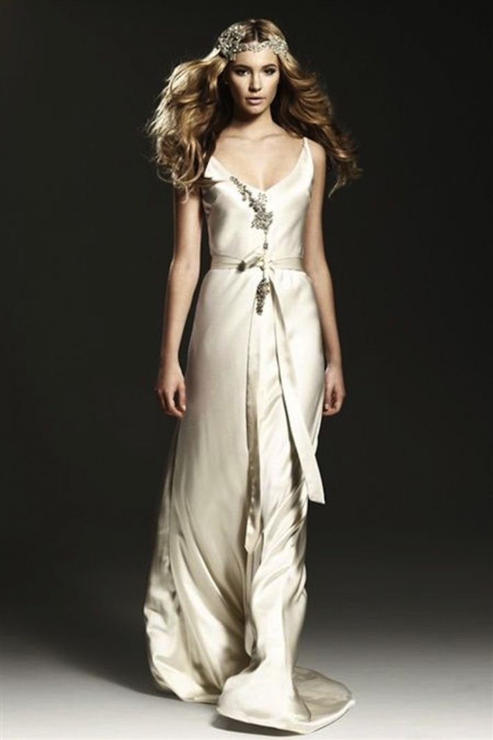 Silk Dresses For Weddings 31 Luxury Beading and Silk