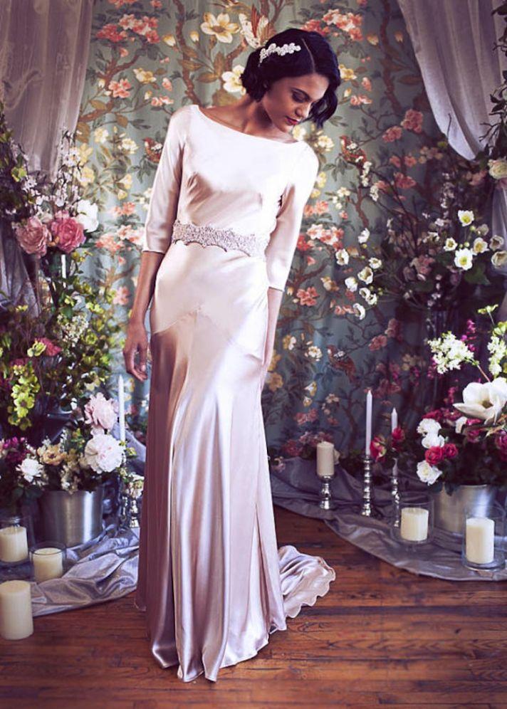 sleek and elegant liquid satin wedding dresses crazyforus