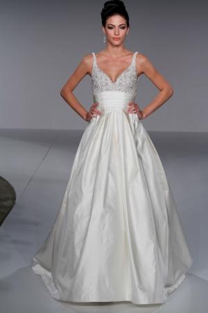 Priscilla of boston wedding dress style 4507 dress onewed for Priscilla of boston wedding dresses