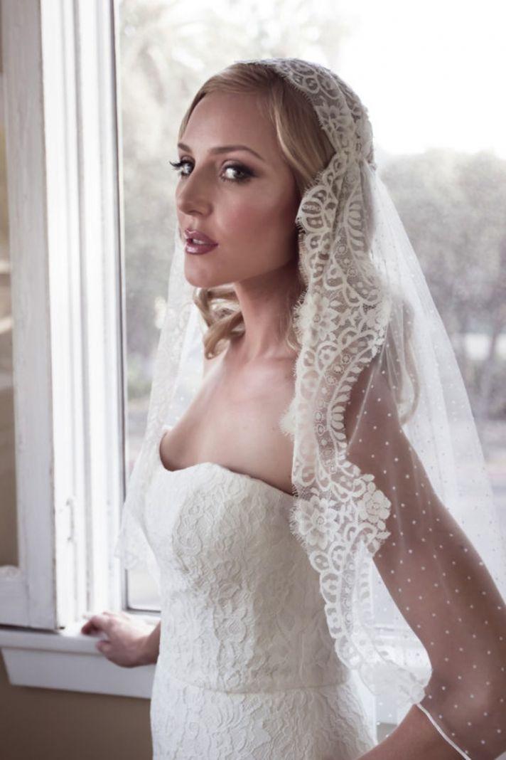 Veil For Wedding Dress 42 Great Lace Cap Veil