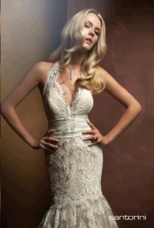 Amy Michelson Wedding Dress Style Santorini