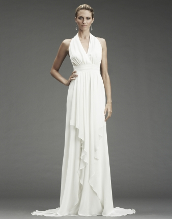 Grecian Dress on Nicole Miller Wedding Dress Style Fa0028   Onewed