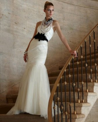 Black Bridesmaid Dress on White House Black Market Designer Wedding Dresses   Onewed