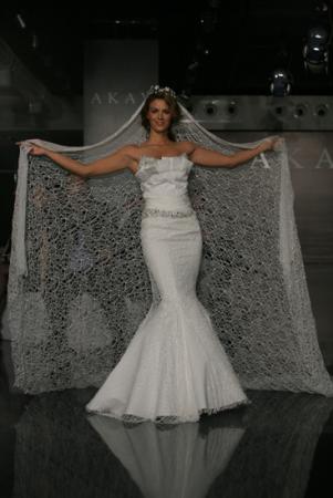 Akay maison de couture wedding dress style 1021 dress onewed for Akay maison de couture