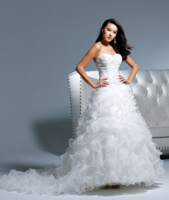 David Tutera By Faviana Wedding Dress Style Thalia